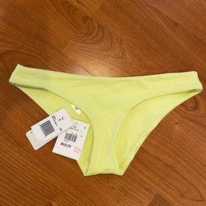Lspace green bikini bottoms